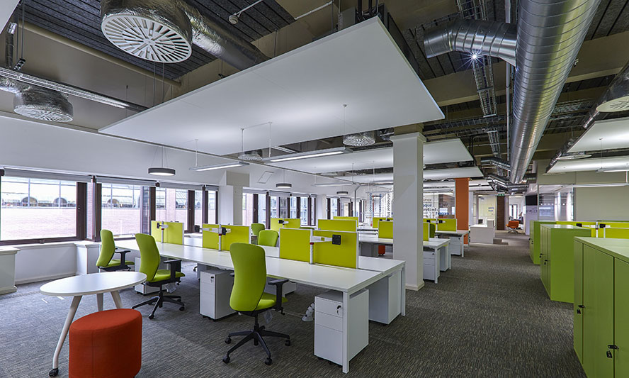 Smart buildings smart climate smart acoustics an for Office ventilation design
